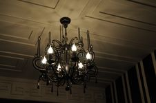 Free The Chandelier Lamp Stock Photography - 5332802