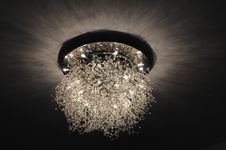 Free Peculiar Ceiling Lamp Royalty Free Stock Image - 5333046