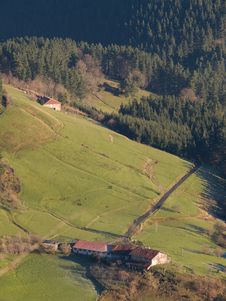 Free The Pays Basque Countryside Stock Image - 5333571