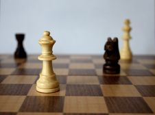 Free Chess Game Royalty Free Stock Images - 5333929