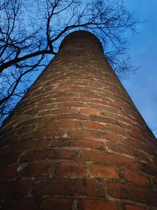 Free Old Factory Chimney Royalty Free Stock Photo - 5334165
