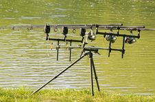 Free Fishing Rods Royalty Free Stock Images - 5334269