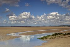 Low Tide At Silverdale Royalty Free Stock Photography