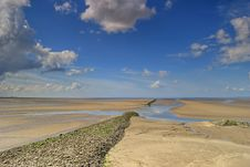 Low Tide At Silverdale Royalty Free Stock Photos