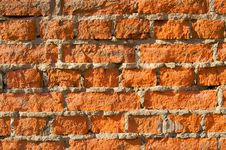 Free Red Brick Wall Texture Royalty Free Stock Image - 5335566