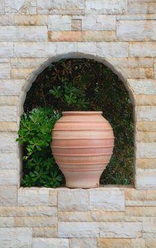 Traditional Greek Jar Royalty Free Stock Image