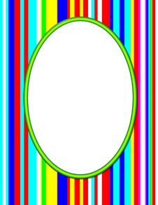 Free Green Oval Frame Stock Image - 5335581