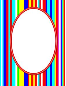 Free Red Oval Frame Royalty Free Stock Photos - 5335598