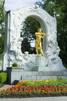 Free Johann Strauss - Vienna Stock Photography - 5335652