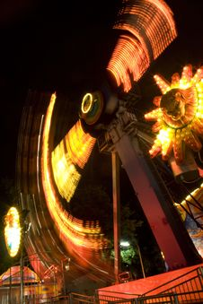 Free Vienna Riesenrad (Feris Wheel) By Night Royalty Free Stock Image - 5335886