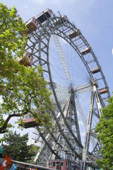 Free Vienna Riesenrad (Ferris Wheel) Royalty Free Stock Image - 5335986