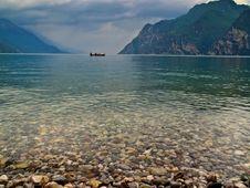 Free Lake Garda - Small Boat Royalty Free Stock Photos - 5336138