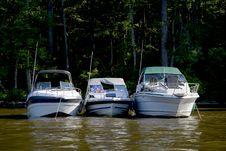 Free Pleasure Boats Royalty Free Stock Photo - 5336785