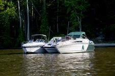 Free Pleasure Boats Stock Images - 5336864