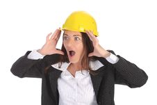 Free Businesswoman Confused Royalty Free Stock Photos - 5336908