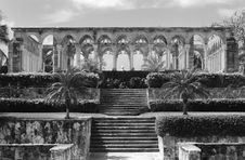 The Entrance To Cloister Royalty Free Stock Photo