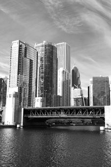 Free The Chicago Skyline Stock Photos - 5337553
