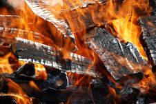 Free Fire Burning Stock Photography - 5338482