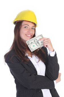 Free Businesswoman With Earnings Stock Images - 5338664