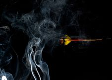 Smoky Dart Royalty Free Stock Images