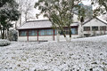 Free Xuanwu Lake Park Snow Scene Royalty Free Stock Photos - 53387708