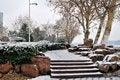 Free Xuanwu Lake Park Snow Scene Stock Images - 53387814