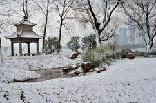 Free Xuanwu Lake Park Snow Scene Stock Photo - 53387700