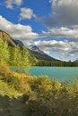 Free Small Grey Cloud Above Lake Royalty Free Stock Photos - 5342218