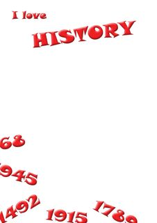 Free I Love History Red Stock Photos - 5340283