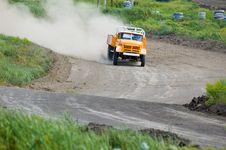 Free Lorry On Race Stock Photos - 5340383