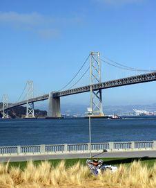 Free Bay Bridge Royalty Free Stock Photography - 5340907