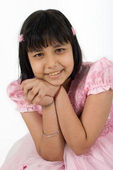 Free Asian Sikh Girl Stock Image - 5341131