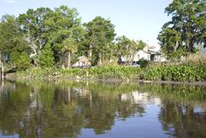 Free Homes On The River Stock Images - 5341834