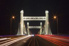 Free Night Piece Of Bridge Royalty Free Stock Photo - 5343005