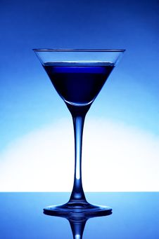 Free Blue Coctail Royalty Free Stock Photos - 5343028
