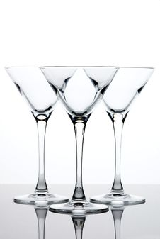 Free Martini Glasses Royalty Free Stock Image - 5343116