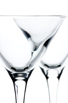 Free Martini Glasses Detail Royalty Free Stock Images - 5343149