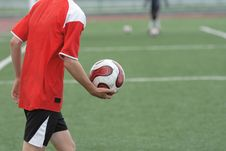 Free The Football Player Royalty Free Stock Photography - 5344557