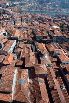 Free Roofs Of Porto Stock Image - 5345341