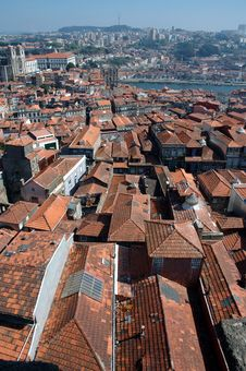 Free Roofs Of Porto Royalty Free Stock Photos - 5345548