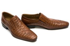 Free Brown Low Shoes Stock Photo - 5345640