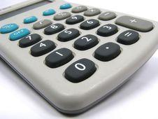 Free Calculator Closeup Royalty Free Stock Photography - 5346227