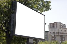 Free Blank Billboard In City Royalty Free Stock Photo - 5347225