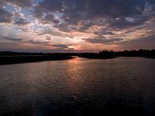 Free Lake Margin Dawn Royalty Free Stock Photos - 5347308