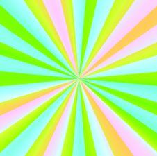 Free Pastel Sunburst Stock Images - 5347344