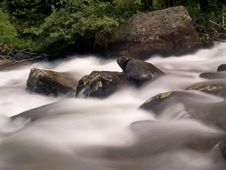 Free St. Vrain Rapids Royalty Free Stock Photography - 5347367