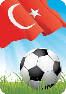 European Soccer Championship 2008 - Turkey Royalty Free Stock Images