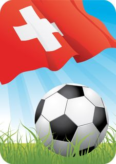 European Soccer Championship 2008 - Switzerland Royalty Free Stock Photo