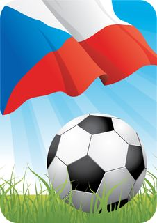 European Soccer Championship 2008 - Czechia Royalty Free Stock Photos