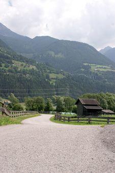 Free Mountain Pass Royalty Free Stock Photos - 5347568